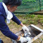 着火が簡単なオガ炭を販売。