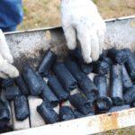 大黒新備長炭とオガ炭のコラボ!