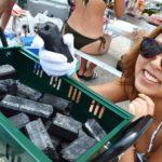 バーベキューでオガ炭が使いやすい。